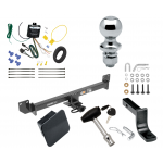 """Trailer Tow Hitch For 18-19 Acura RLX Class 2 Complete Package w/ Wiring Draw Bar Kit and 2"""" Ball"""
