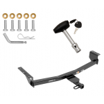 Trailer Tow Hitch For 08-19 Nissan Rogue w/ Security Lock Pin Key