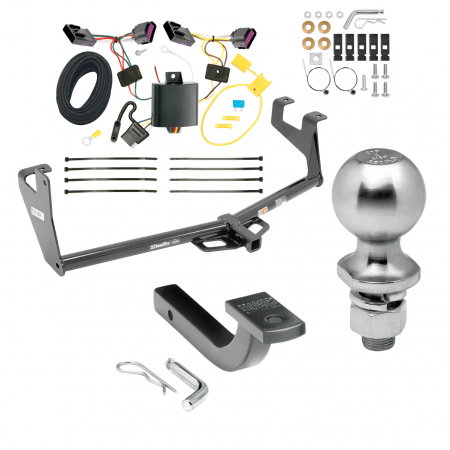 "Trailer Tow Hitch For 13-16 Buick Encore Class 2 Complete Package w/ Wiring Draw Bar Kit and 2"" Ball"