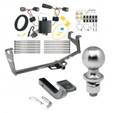 "Trailer Tow Hitch For 17-20 Buick Encore Class 2 Complete Package w/ Wiring Draw Bar Kit and 2"" Ball"