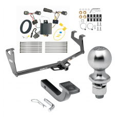 """Trailer Tow Hitch For 17-20 Chevy Trax Except LS Class 2 Complete Package w/ Wiring Draw Bar Kit and 2"""" Ball"""