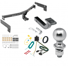 """Trailer Tow Hitch For 15-17 Lincoln MKC Class 2 Complete Package w/ Wiring Draw Bar Kit and 2"""" Ball"""