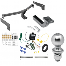"""Trailer Tow Hitch For 18-19 Lincoln MKC Class 2 Complete Package w/ Wiring Draw Bar Kit and 2"""" Ball"""