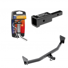 "Trailer Tow Hitch For 17-19 KIA Niro Except Plug-In-Hybrid w/ 2"" Adapter and Pin/Clip"