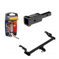 "Trailer Tow Hitch For 18-20 Ford EcoSport Class 2 w/ 2"" Adapter and Pin/Clip"