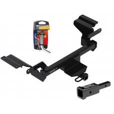"Trailer Tow Hitch For 18-19 Buick Regal TourX w/ 2"" Adapter and Pin/Clip"