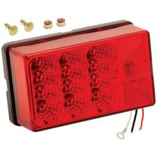 Wesbar LED Waterproof 4X6 Low Profile 7-Function Trailer Taillight Right/Curbside RV