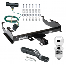 "Trailer Tow Hitch For  73-84 Chevy C/K 67-84 GMC C/K w/ 8' Bed Complete Package w/ Wiring and 2"" Ball"