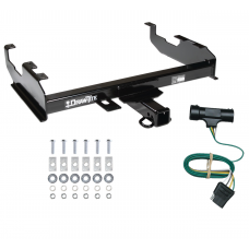 Trailer Tow Hitch For  73-84 Chevy C/K 67-84 GMC C/K w/ 8' Bed w/ Wiring Harness Kit