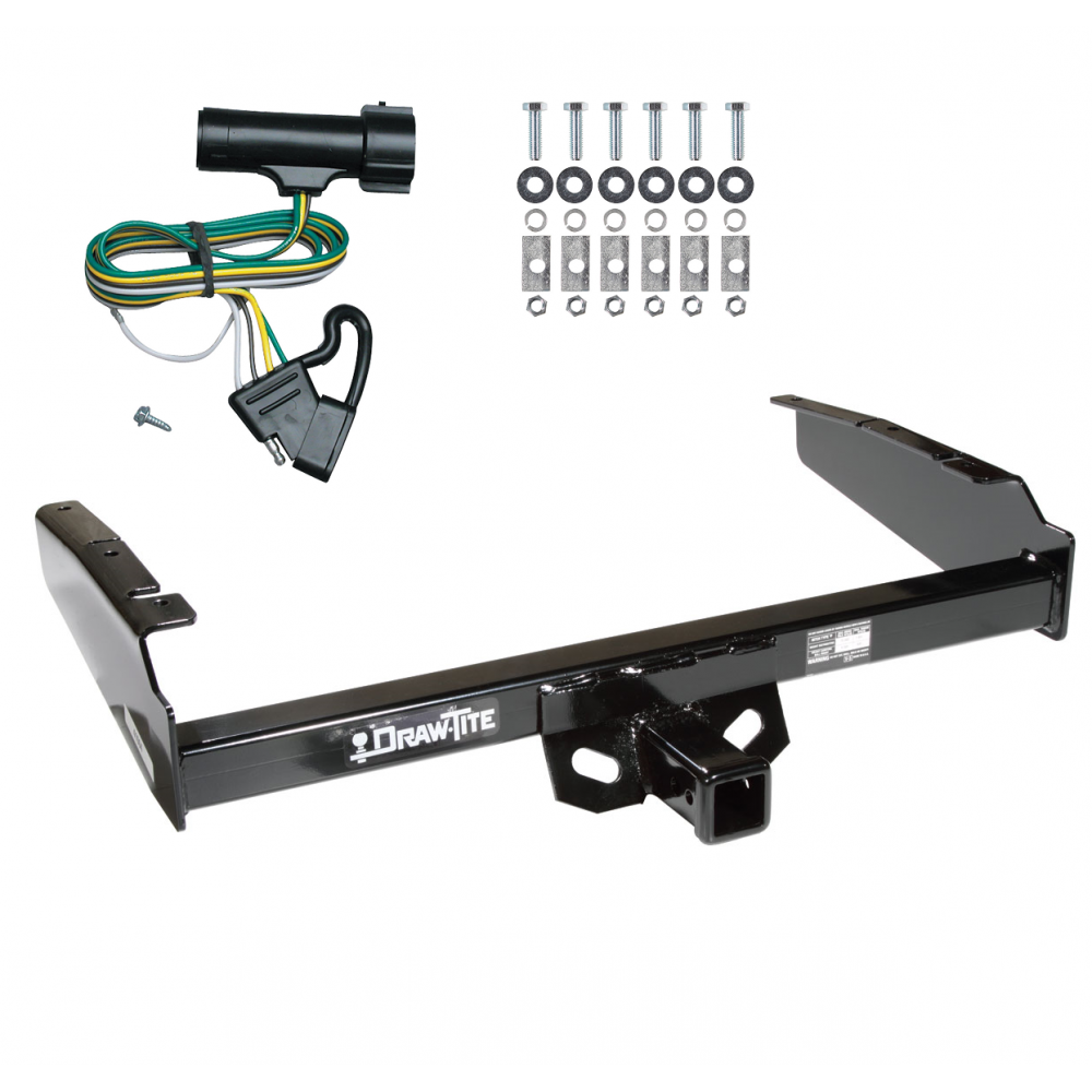 [DIAGRAM_1JK]  Trailer Tow Hitch For 80-86 Ford F-100 F-150 F-250 F-350 Except w/ Custom  Fascia w/ Wiring Harness Kit | Ford Trailer Tow Harness |  | TrailerJacks.com
