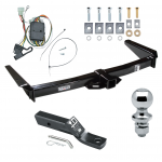 "Trailer Tow Hitch For 96-97 Toyota Land Cruiser Lexus LX450 Complete Package w/ Wiring and 1-7/8"" Ball"