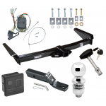 "Trailer Tow Hitch For 96-97 Toyota Land Cruiser Lexus LX450 Deluxe Package Wiring 2"" Ball and Lock"