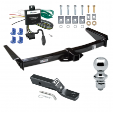 "Trailer Tow Hitch For 91-95 Toyota Land Cruiser Complete Package w/ Wiring and 1-7/8"" Ball"