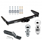 "Trailer Tow Hitch For 91-97 Toyota Land Cruiser 96-97 Lexus LX450 Receiver w/ 1-7/8"" and 2"" Ball"