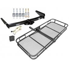 Trailer Tow Hitch For 91-97 Toyota Land Cruiser 96-97 Lexus LX450 Basket Cargo Carrier Platform Hitch Lock and Cover