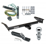 """Trailer Tow Hitch For 92-97 Ford Crown Victoria Mercury Grand Marquis Complete Package w/ Wiring and 1-7/8"""" Ball"""