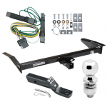 """Trailer Tow Hitch For 92-97 Ford Crown Victoria Mercury Grand Marquis Complete Package w/ Wiring and 2"""" Ball"""