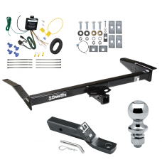 "Trailer Tow Hitch For 98-09 Ford Crown Victoria 81-11 Lincoln Town Car 98-11 Mercury Grand Marquis 03-04 Marauder Complete Package w/ Wiring and 1-7/8"" Ball"
