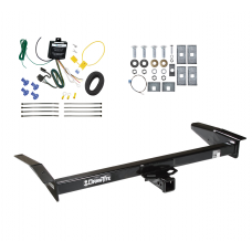 Trailer Tow Hitch For 98-09 Ford Crown Victoria 81-11 Lincoln Town Car 98-11 Mercury Grand Marquis 03-04 Marauder w/ Wiring Harness Kit