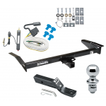 """Trailer Tow Hitch For 79-82 Ford LTD 83-97 LTD Crown Victoria 80-83 Lincoln Mark VI 83-91 Mercury Grand Marquis 79-82 Marquis Complete Package w/ Wiring and 1-7/8"""" Ball"""