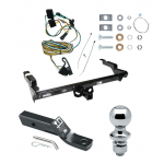 "Trailer Tow Hitch For 87-95 Chevy GMC G10 G20 G30 G1500 G2500 G3500 Complete Package w/ Wiring and 1-7/8"" Ball"