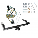 Trailer Tow Hitch For 87-95 Chevy GMC G10 G20 G30 G1500 G2500 G3500 w/ Wiring Harness Kit