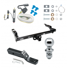 "Trailer Tow Hitch For 78-86 Chevy GMC G10 G20 G30 G1500 G2500 G3500 96 Classic Sport Vandura Rally Complete Package w/ Wiring and 1-7/8"" Ball"