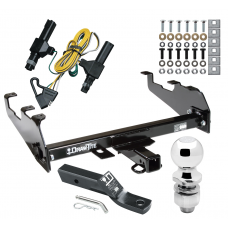 "Trailer Tow Hitch For 86-94 Dodge D/W w/Deep Drop Bumper Complete Package w/ Wiring and 2"" Ball"