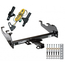 Trailer Tow Hitch For 86-94 Dodge D/W w/Deep Drop Bumper w/ Wiring Harness Kit