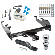 "Trailer Tow Hitch For 63-74 Chevy GMC C/K 68-85 Dodge D/W Ramcharger 63-79 Ford F-100 F-150 F-250 F-350 Complete Package w/ Wiring and 1-7/8"" Ball"