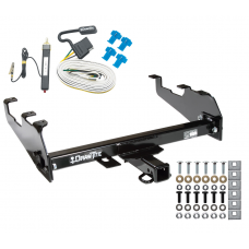 Trailer Tow Hitch For 63-74 Chevy GMC C/K 68-85 Dodge D/W Ramcharger 63-79 Ford F-100 F-150 F-250 F-350 w/ Wiring Harness Kit