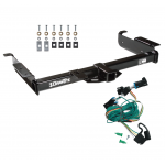 Trailer Tow Hitch For 96-99 Chevy Express GMC Savana 1500 2500 3500 w/ Wiring Harness Kit