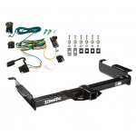 Trailer Tow Hitch For 03-19 Chevy Express GMC Savana 1500 2500 3500 w/ Wiring Harness Kit