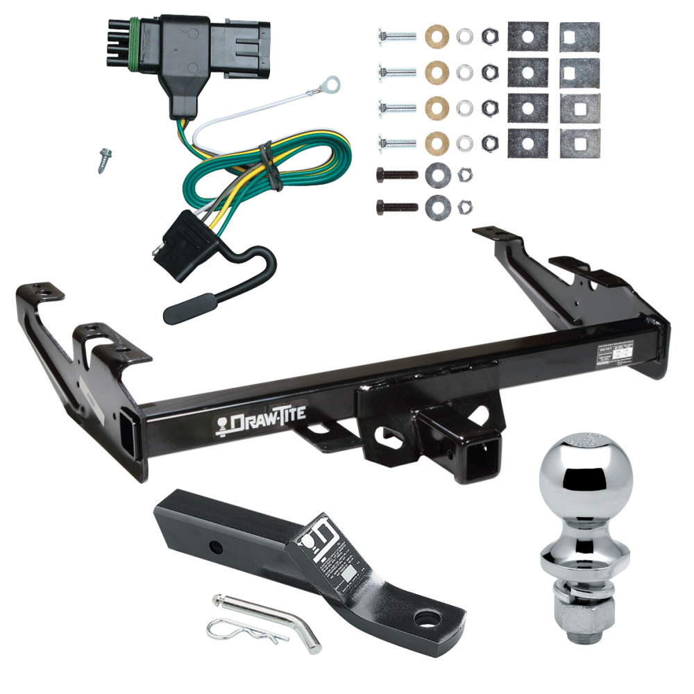 """Trailer Towing Hitch Class 3-2/"""" Receiver Tube For Chevy//GMC C1500//C2500//C3500"""
