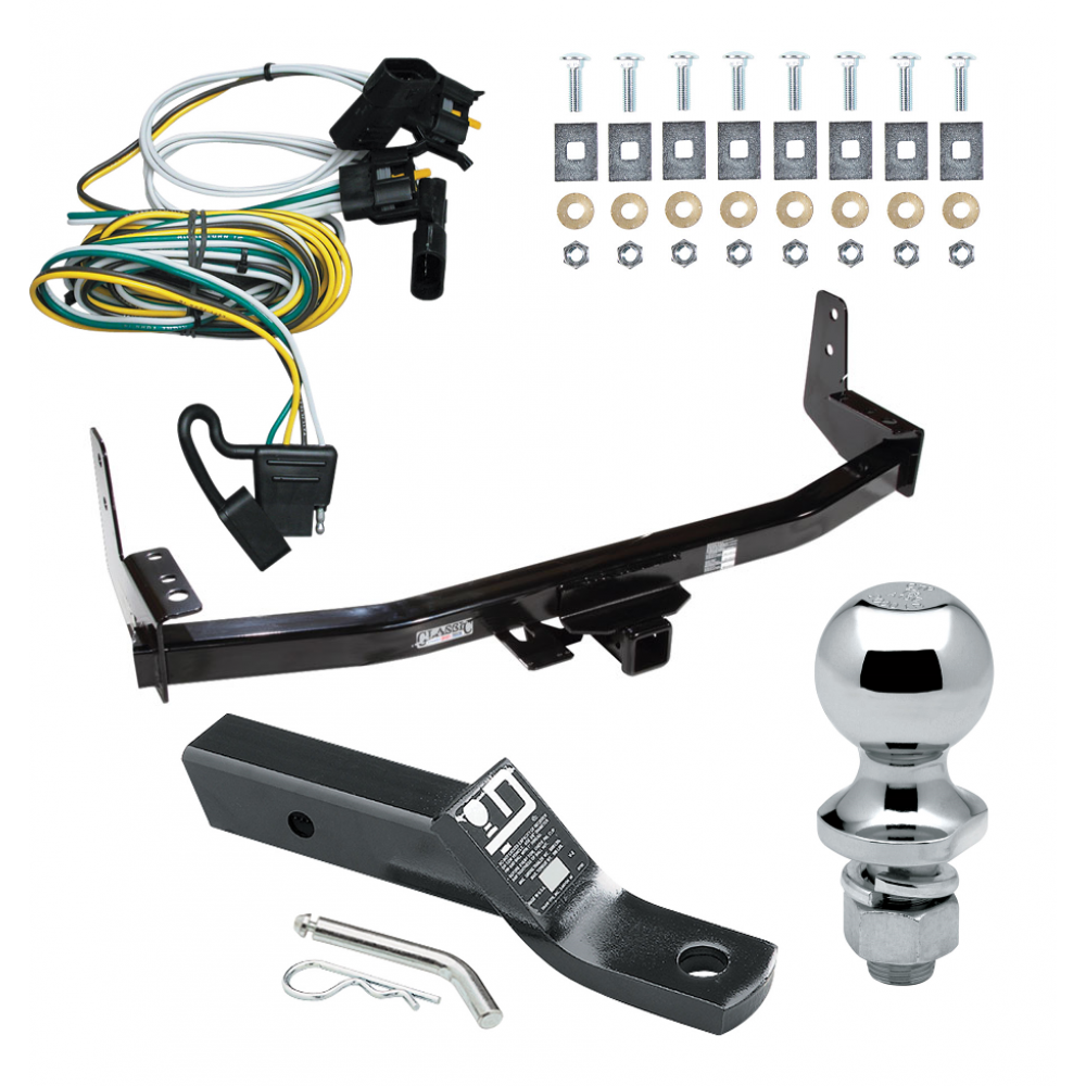 trailer tow hitch for 97-02 ford expedition lincoln navigator complete  package w/ wiring and