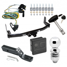 """Trailer Tow Hitch For 97-02 Ford Expedition Lincoln Navigator Deluxe Package Wiring 2"""" Ball and Lock"""