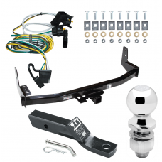 """Trailer Tow Hitch For 97-02 Ford Expedition Lincoln Navigator Complete Package w/ Wiring and 2"""" Ball"""