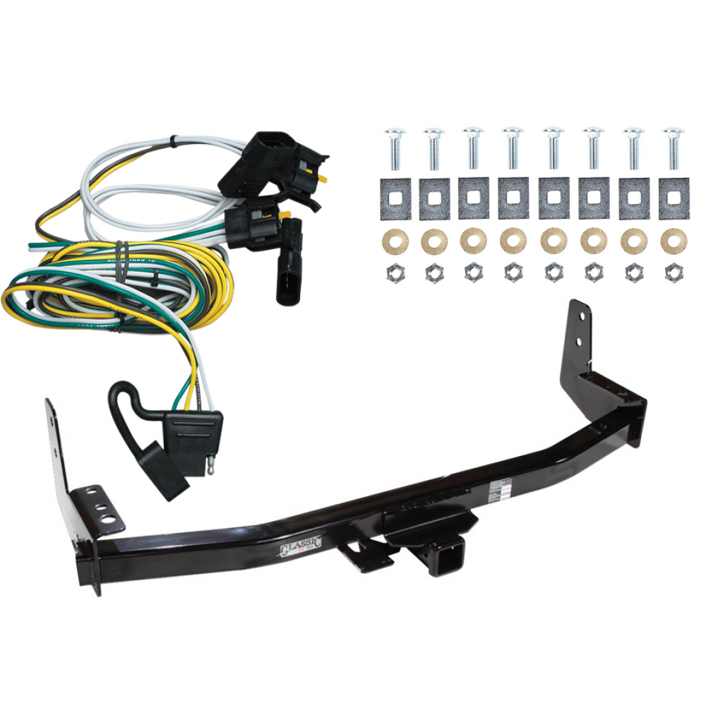 trailer tow hitch for 97-02 ford expedition lincoln navigator w/ wiring  harness kit