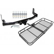 Trailer Tow Hitch For 97-02 Ford Expedition 98-02 Lincoln Navigator Basket Cargo Carrier Platform w/ Hitch Pin