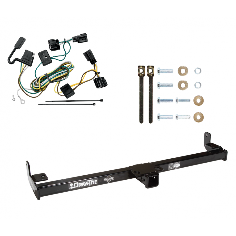 Trailer Tow Hitch For 98-06 Jeep Wrangler TJ w/ Wiring Harness Kit on jeep wrangler wiring, jeep wj wiring harness, jeep xj wiring harness, jeep compass wiring harness, 1978 jeep cj7 wiring harness, dodge wiring harness, jeep cj wiring harness, jeep commander wiring harness, jeep wiring harness kit, jeep tj audio wiring, kia spectra wiring harness, jeep wiring harness diagram, jeep wrangler cheap mods, jeep liberty wiring harness, jeep commando wiring harness, jeep tj trailer wiring, jeep cherokee 4.0 wiring harness, jeep tail light wiring harness, ford wiring harness, jeep grand wagoneer wiring harness,