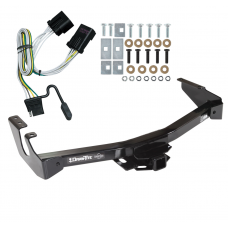 Trailer Tow Hitch For 01-03 Dodge Van Ram 1500 2500 3500 w/ Wiring Harness Kit