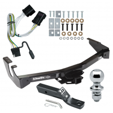 "Trailer Tow Hitch For 01-03 Dodge Van Ram 1500 2500 3500 Complete Package w/ Wiring and 1-7/8"" Ball"
