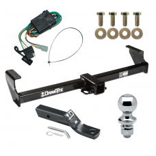 "Trailer Tow Hitch For 99-05 Suzuki Grand Vitara Chevy Tracker 02-06 XL-7 Complete Package w/ Wiring and 1-7/8"" Ball"