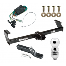 "Trailer Tow Hitch For 99-05 Suzuki Grand Vitara Chevy Tracker 02-06 XL-7 Complete Package w/ Wiring and 2"" Ball"