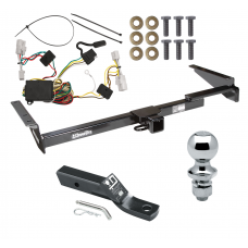"""Trailer Tow Hitch For 01-03 Toyota Highlander Complete Package w/ Wiring and 1-7/8"""" Ball"""
