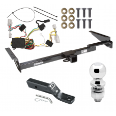 """Trailer Tow Hitch For 01-03 Toyota Highlander Complete Package w/ Wiring and 2"""" Ball"""