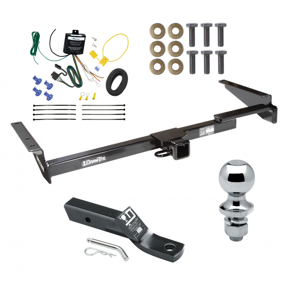 trailer tow hitch for 99 03 lexus rx300 complete package w wiring