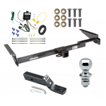 """Trailer Tow Hitch For 99-03 Lexus RX300 Complete Package w/ Wiring and 1-7/8"""" Ball"""
