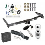 """Trailer Tow Hitch For 99-03 Lexus RX300 Deluxe Package Wiring 2"""" Ball and Lock"""