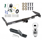 """Trailer Tow Hitch For 99-03 Lexus RX300 Complete Package w/ Wiring and 2"""" Ball"""
